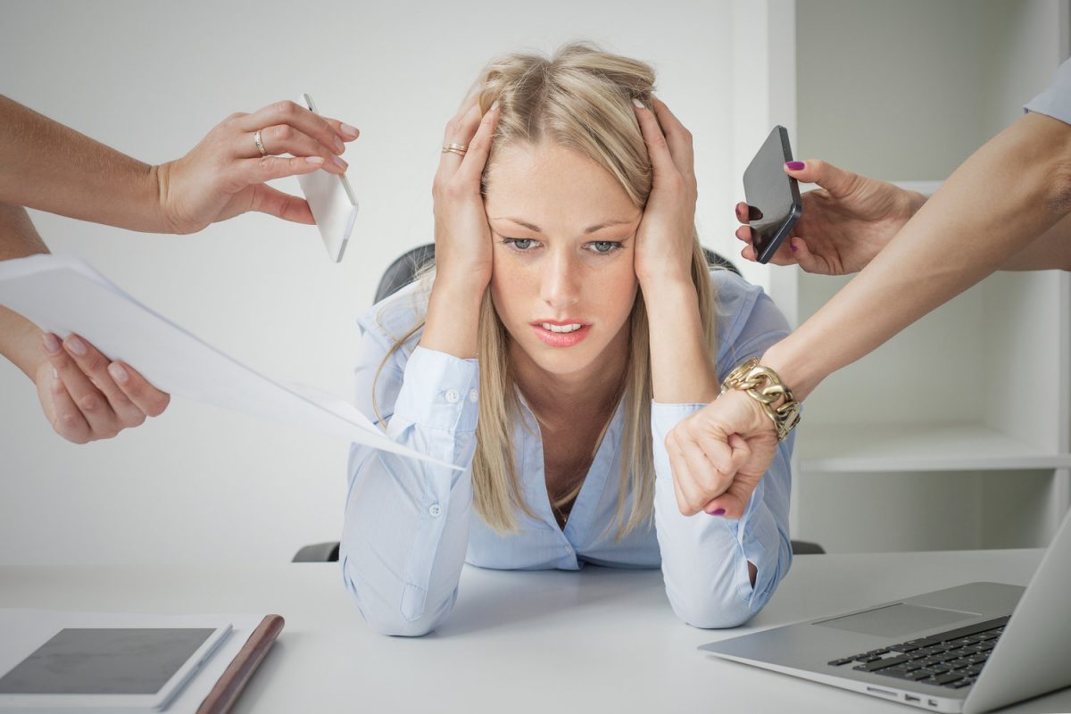 Bigstock depressed business woman